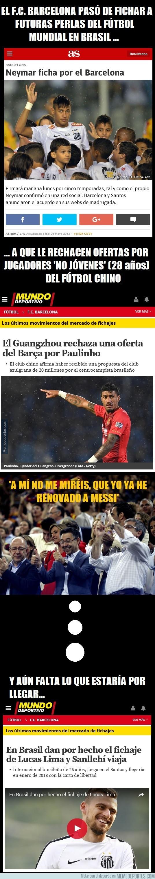 986309 - ¿Qué le le está pasando al Barça?