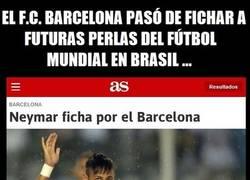Enlace a ¿Qué le le está pasando al Barça?
