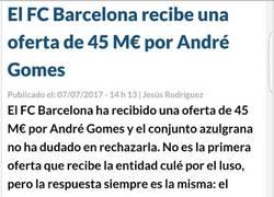 Enlace a Lo del Barcelona es ya muy dificil de creer