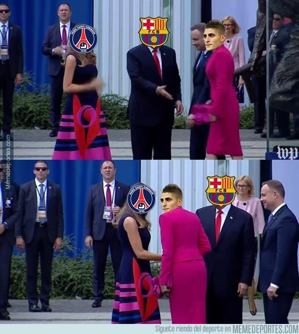 986373 - El doble check de Verratti al Barça