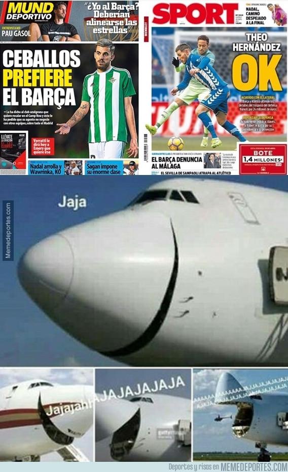 986552 - El gafe de la prensa catalana no da a basto