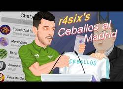 Enlace a La parodia de la llega de Ceballos al Real Madrid que hace llorar al protagonista