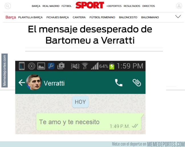 986713 - El mensajes desesperado de Bartomeu a Verrarri