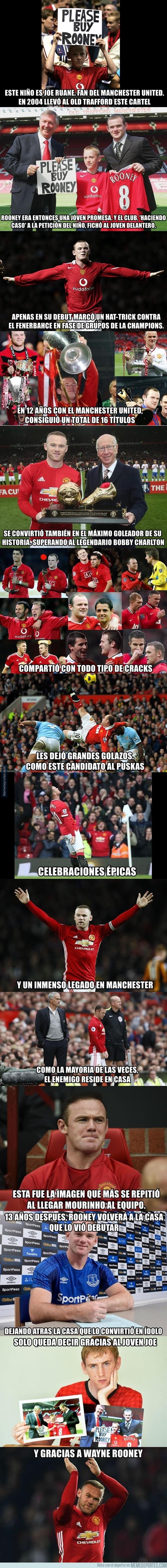 986715 - El adiós a Rooney del Manchester United