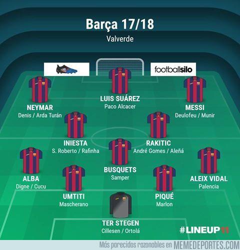 986765 - El Barça de Valverde tras los numerosos fichajes