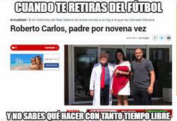 Enlace a Roberto Carlos y su tiempo libre