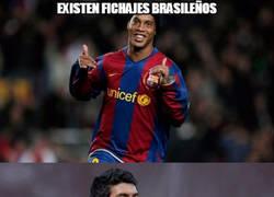 Enlace a Existen fichajes brasileños y fichajes brasileños