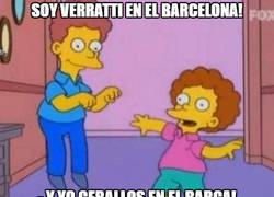 Enlace a ¡Soy Verratti en el Barcelona!