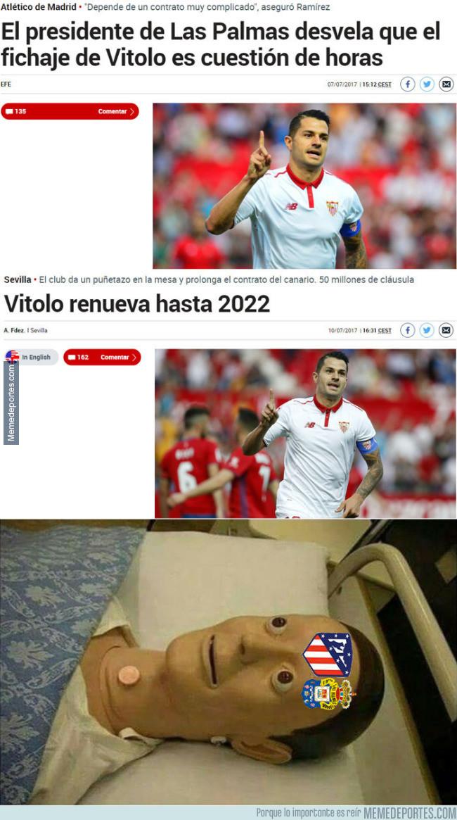 986926 - Liada monumental de Vitolo y el Sevilla a Las Palmas y Atleti