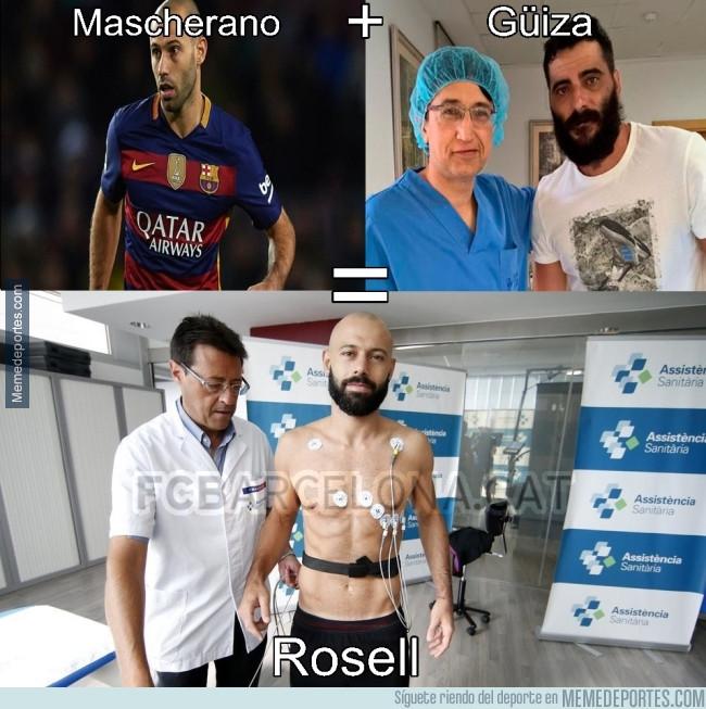 987230 - El cambio de Mascherano jugador a ex presidente del Barcelona