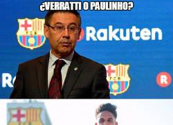 Enlace a ¿Verratti o Paulinho?