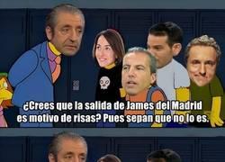 Enlace a Como se ha tomado el periodismo de España la salida de James
