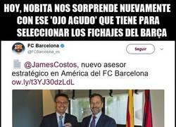 Enlace a ¡Lo hizo de nuevo! Bartomeu ficha a un simpatizante del Madrid como asesor estratégico