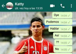 Enlace a Mientras tanto en el Whatsapp de algún colombiano bávaro...