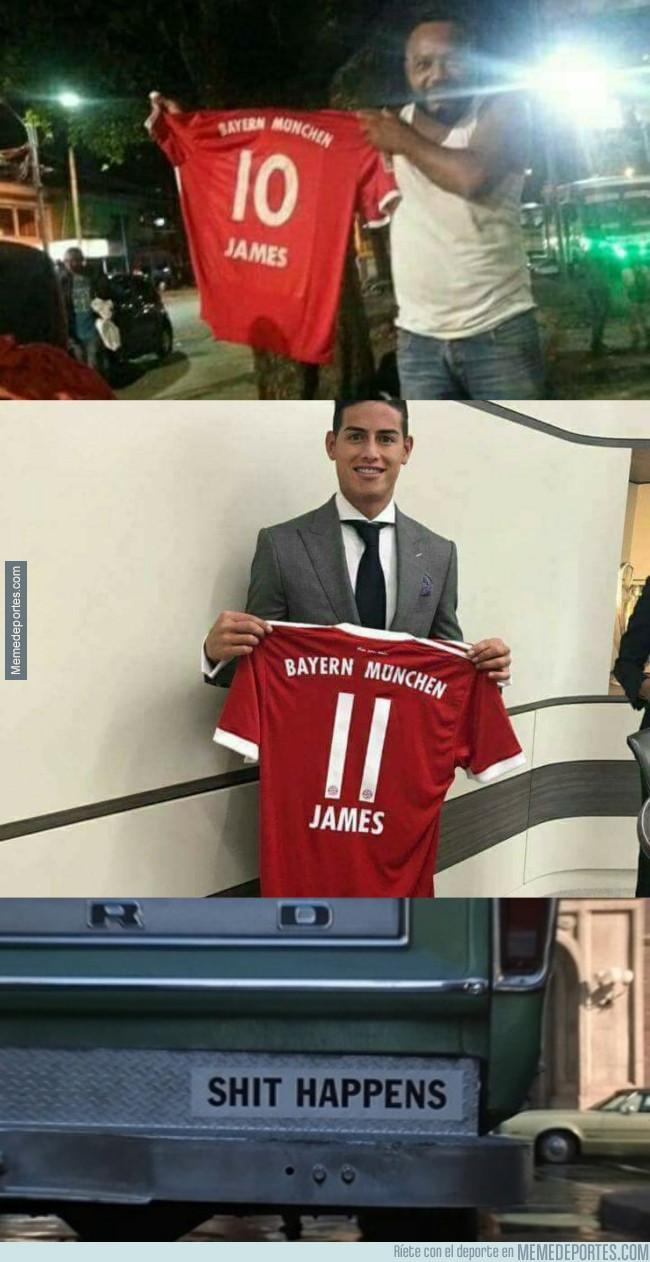 987347 - El fail épico de un colombiano que se compró la camiseta del  Bayern de f939078b2d0a9
