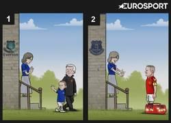 Enlace a Rooney vuelve a casa hecho un hombre. By Zezo Cartoons