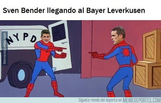 987523 - Sven Bender ficha por el Leverkusen y se reune con su hermano gemelo