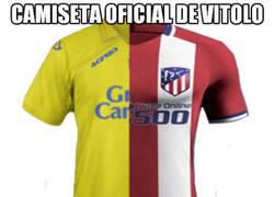 Enlace a Camiseta oficial de Vitolo para esta temporada