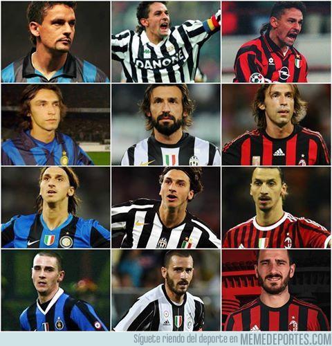 987699 - Bonucci se une al selecto grupo de jugar en los mejores de Italia