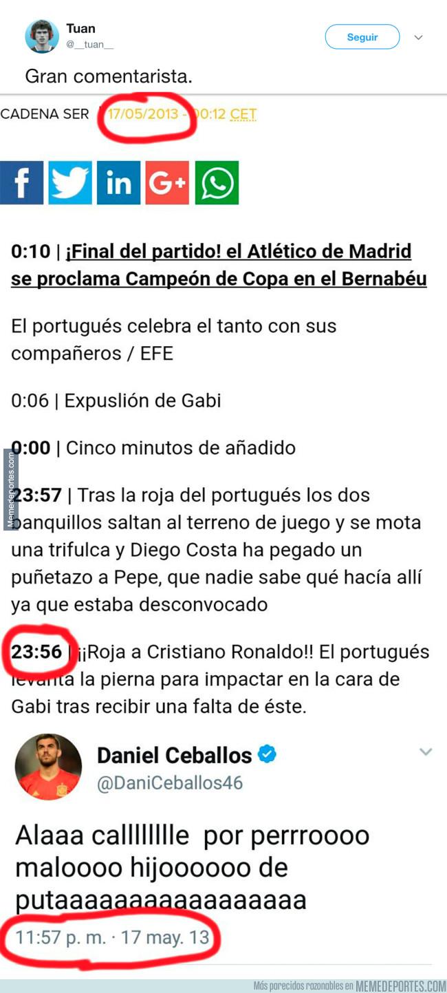 987909 - El fuerte insulto de Dani Ceballos a Cristiano Ronaldo que no hará nada de gracia al portugués