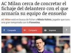 Enlace a El disco duro del Milan está que peta