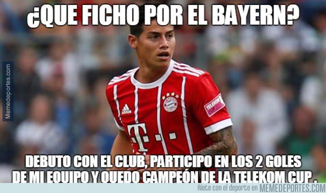 987997 - James ya sabe ganar con el Bayern