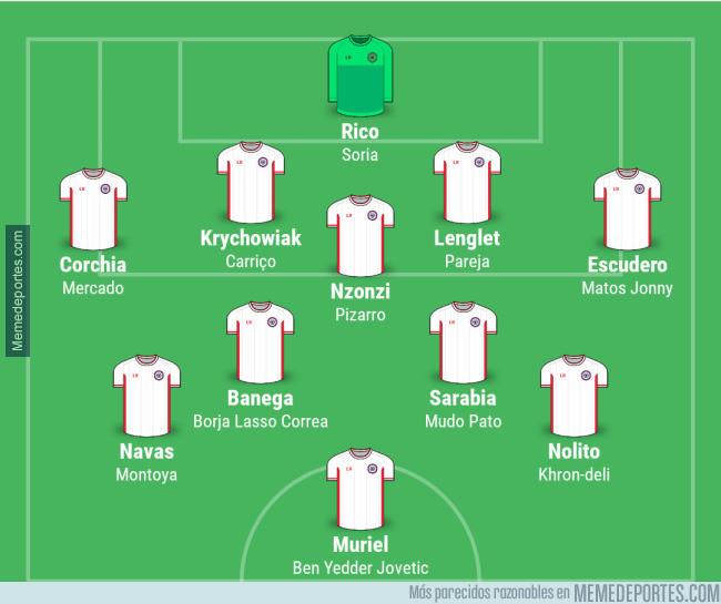 988006 - Ojo al equipo del Sevilla si se cumplen un par de rumores...