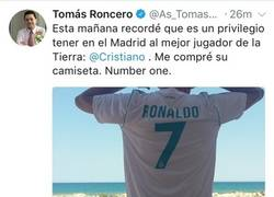 Enlace a Cristiano a punto de marcharse del Real Madrid