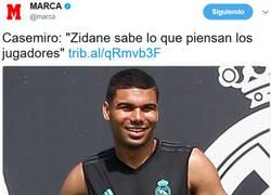 Enlace a Zidane sabe lo que piensan sus jugadores
