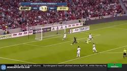 Enlace a Con este gol, Lukaku se estrena con el Manchester United