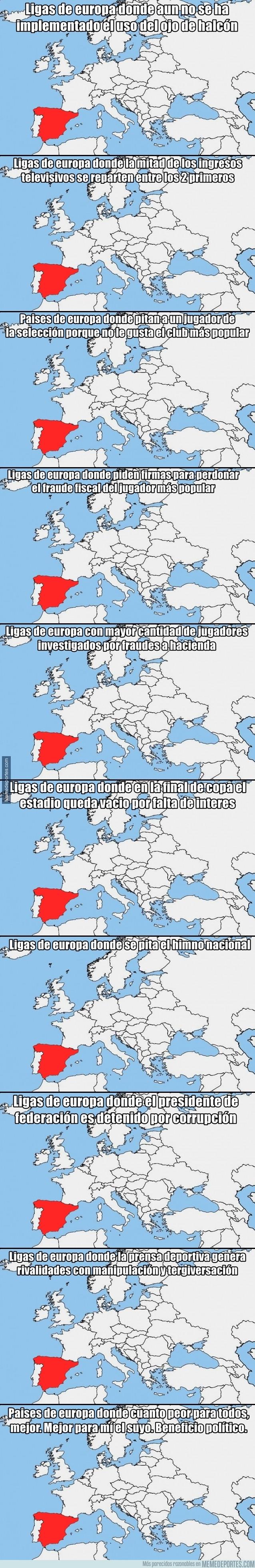 988376 - 10 mapas que demuestran por qué La Liga es la mejor liga del mundo