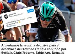 Enlace a Así cambian las piernas de un ciclista tras 16 duras etapas en el Tour