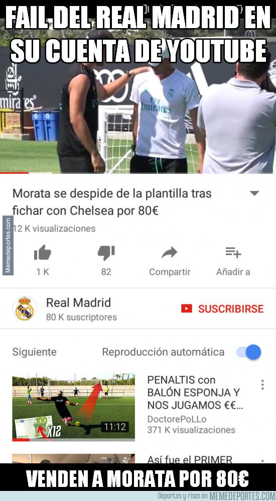 988586 - Morata por 80€, ¿será en verdad el valor que piensan que tiene?
