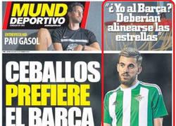 Enlace a La gente no supo interpretar la portada de Mundo Deportivo, ellos ya sabían que no iría al Barça