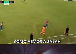Enlace a La velocidad de Salah