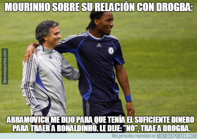 988827 - Mourinho siempre confió en Drogba