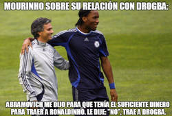 Enlace a Mourinho siempre confió en Drogba