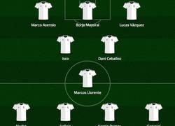 Enlace a El espectacular XI del Real Madrid 100% español