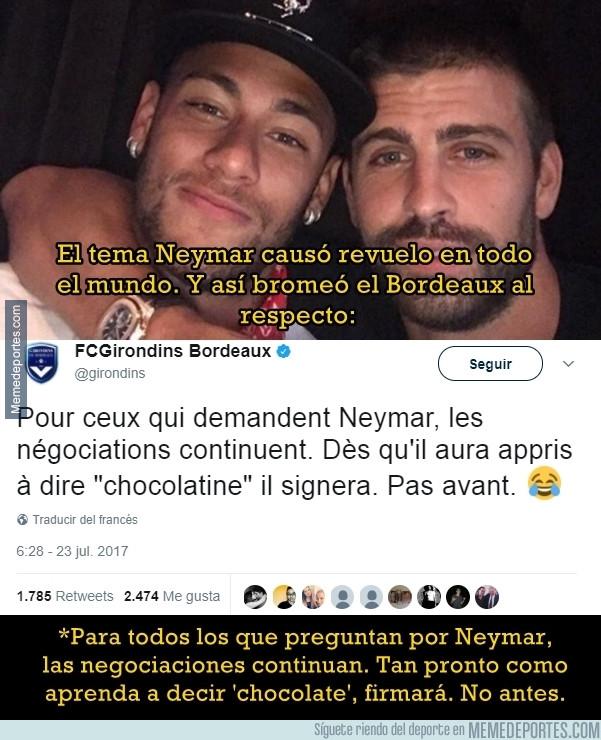 989137 - La condición del Bordeaux para fichar a Neymar