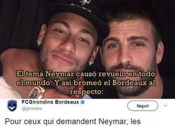 Enlace a La condición del Bordeaux para fichar a Neymar