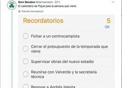Enlace a Los deberes del presidente Piqué y los de Bartomeu