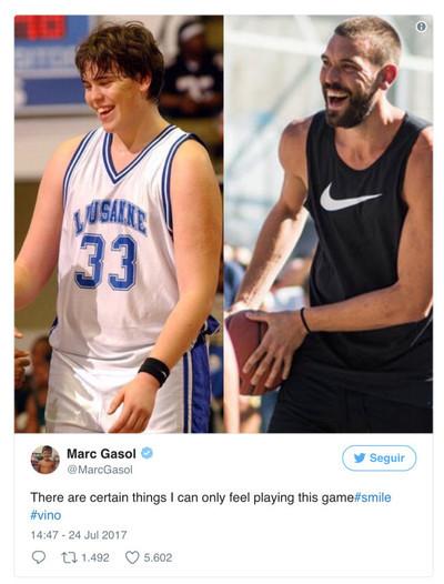 989224 - Así es el espectacular cambio físico de Marc Gasol desde el instituto a ser referente en la NBA
