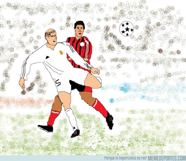 989375 - Momentos históricos del fútbol en paint