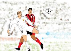 Enlace a Momentos históricos del fútbol en paint