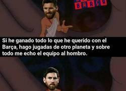 Enlace a Messi, un Dios