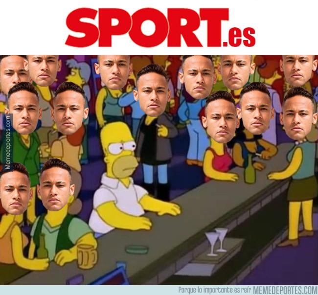 989434 - Así se siente cuando entras en la web del diario Sport con tanto Neymar