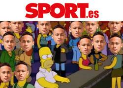 Enlace a Así se siente cuando entras en la web del diario Sport con tanto Neymar