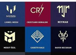 Enlace a Marcas famosas de futbolistas