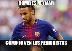 Enlace a Neymar no habla, aunque los periodistas también tienen lo suyo