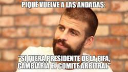 Enlace a Piqué vuelve a las andadas: